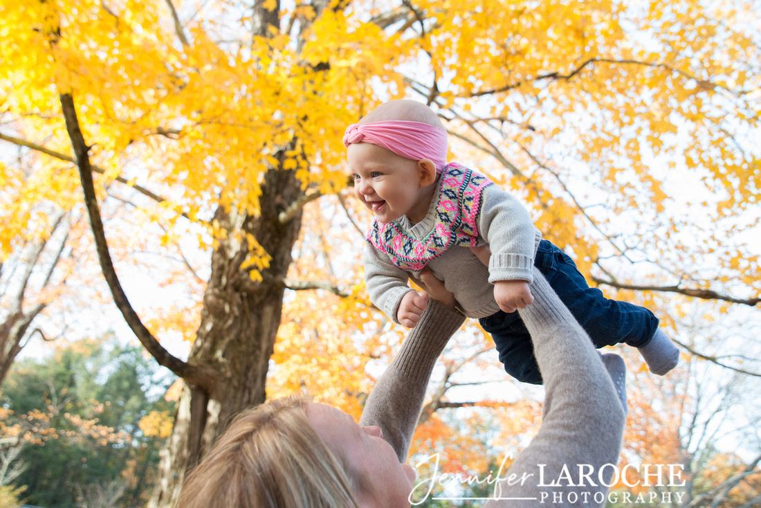 Fall Foliage Family Portraits Wellesley