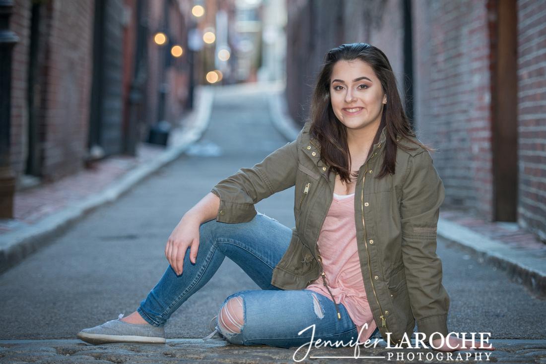 Boston Senior Photo Sessions