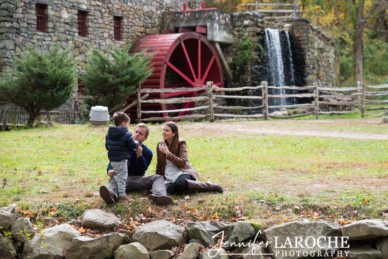 fall family photo shoot at wayside gristmill sudbury ma (18)