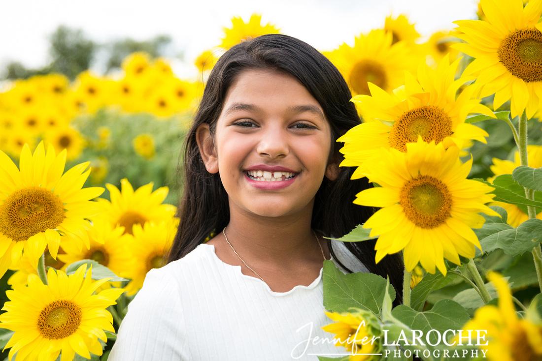 Colby-Farm-Sunflowers-Kids-Portraits-by-Jennifer-LaRoche