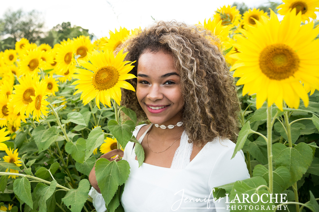 Colby-Farm-Sunflowers-Kids and Family Portraits-by-Jennifer-LaRoche