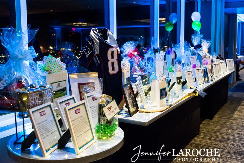 birthday shuffle fundraiser silent auction table