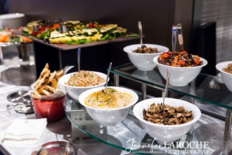 event food display set up
