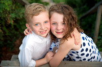 Siblings Portrait, Falmouth, MA
