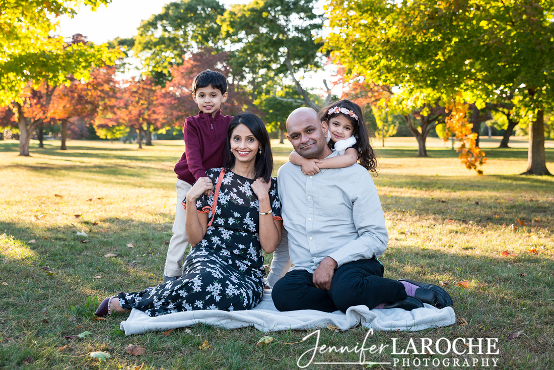Fall Family Picture Cushing Park
