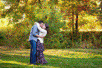 Kissing in the Fall Foliage