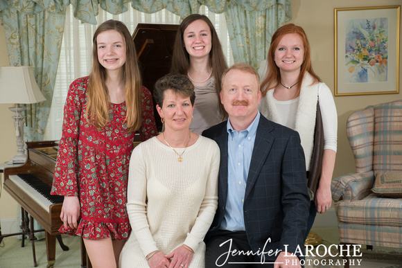 Christmas Family Portrait Sessions
