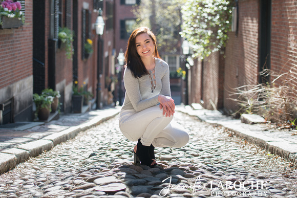 Boston Senior Photo Sessions