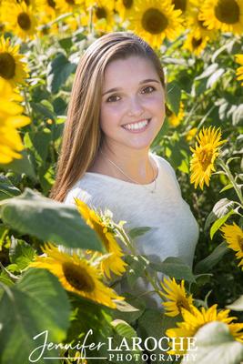 Colby Farm Sunflower Field Portraits