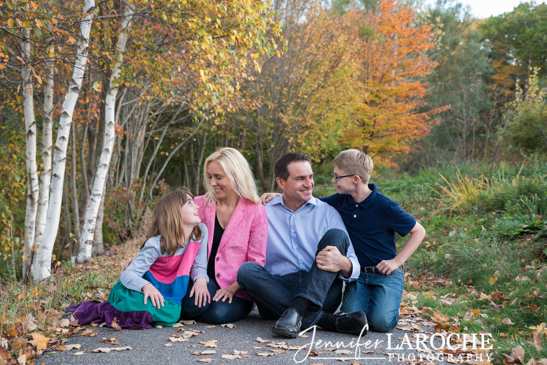 Family of Four Fall Portraits (2)