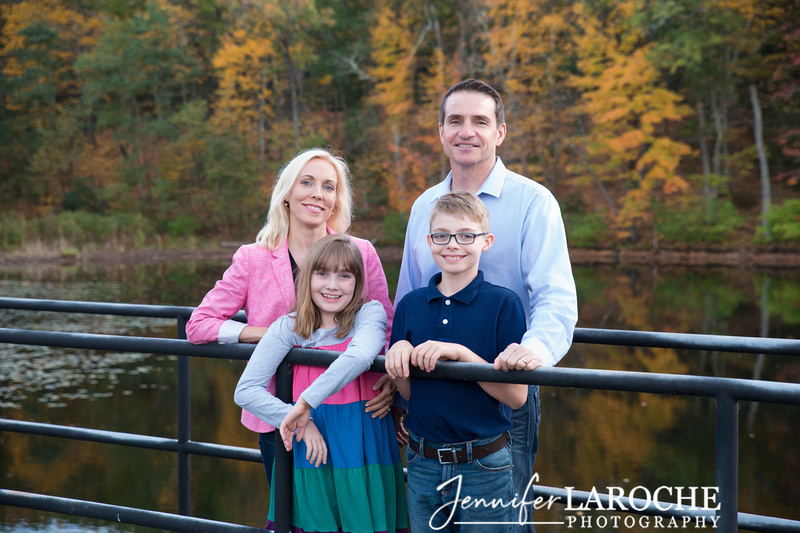Family of Four Fall Portraits (1)