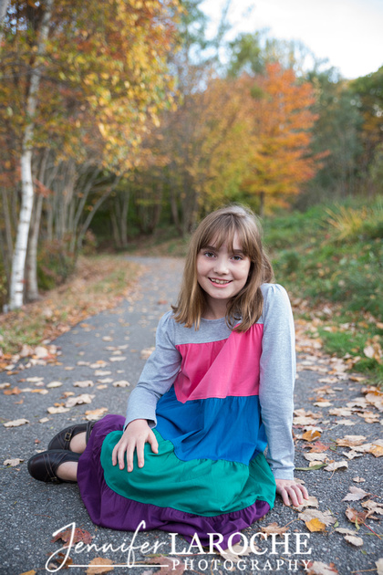 Family of Four Fall Portraits (4)